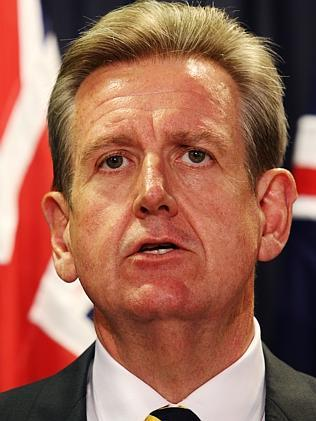 New measures: Barry O'Farrell