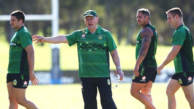 Coach Tim Sheens during Kangaroos training.