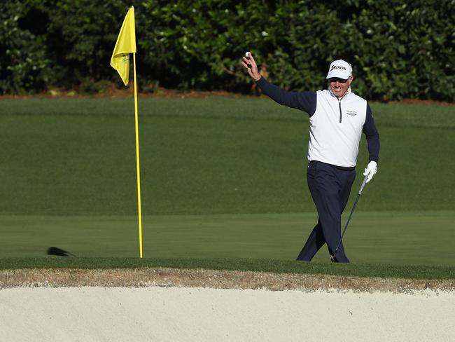 Pampling says goodbye to the Augusta course for what he hopes isn't the last time.