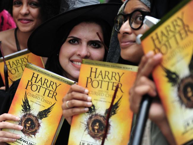 Reading Harry Potter is supposed to improve childrens vocabularies. Picture: Arun Shakur