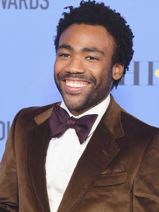 Donald Glover will voice the movie's titular character Simba. Picture: Kevin Winter