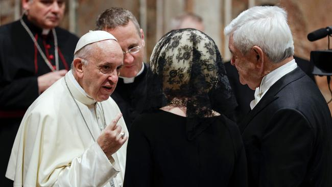Pope Francis is being urged to change his approach to Islam, which one vocal group of converts have called 'dangerous'.