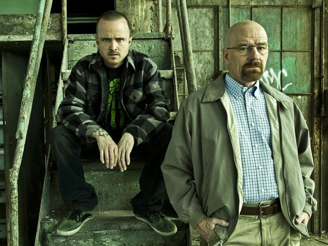 T&I T25 cover Breaking Bad Jesse Pinkman (Aaron Paul) and Walter White (Bryan Cranston) - Breaking Bad - Galler...