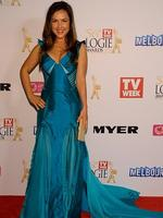 Jane Harber during the Red Carpet Arrivals ahead of the 56th TV Week Logie Awards 2014 held at Crown Casino on Sunday, April 27, 2014 in Melbourne, Australia. Picture: Jason Edwards