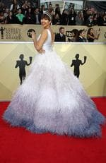 Actor Jackie Cruz attends the 24th Annual Screen Actors Guild Awards at The Shrine Auditorium on January 21, 2018 in Los Angeles, California. Picture: Frederick M. Brown/Getty Images
