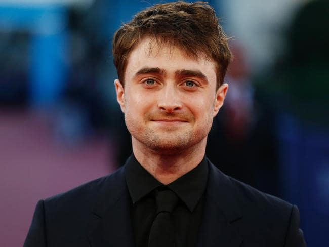 British actor Daniel Radcliffe rushed to help a robbery victim in London. Picture: AFP/Charly Triballeau
