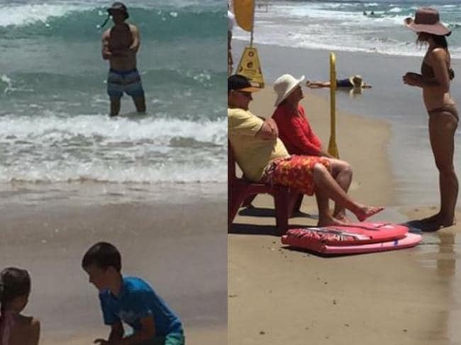 Instagram photos show the Danish royals enjoying the Gold Coast beaches.