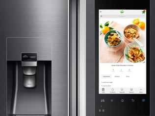 Tech gifts. Samsung fridge, supplied.