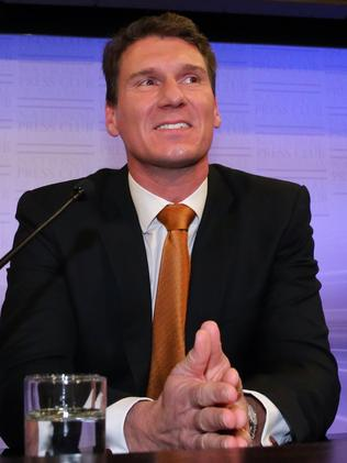 Proposal 'gaining support' ... Senator Cory Bernardi.