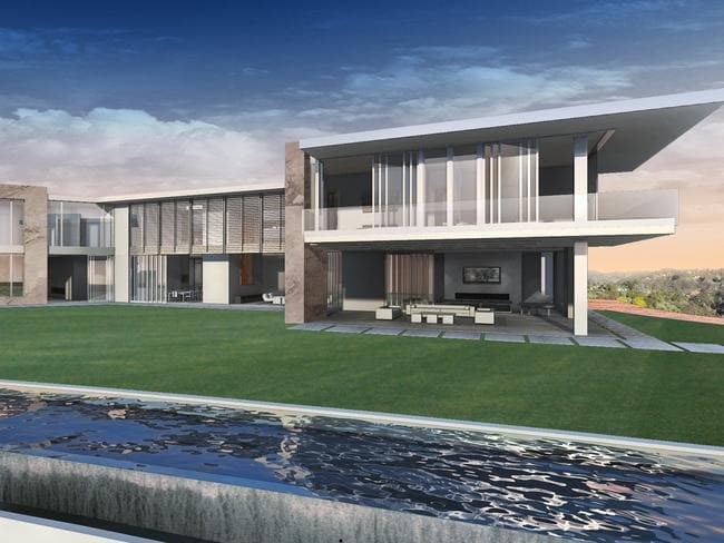"A moat will make it appear the house is floating, while the ""sky deck"" will offer 360-degree views of the city and ocean from its putting green and bar."