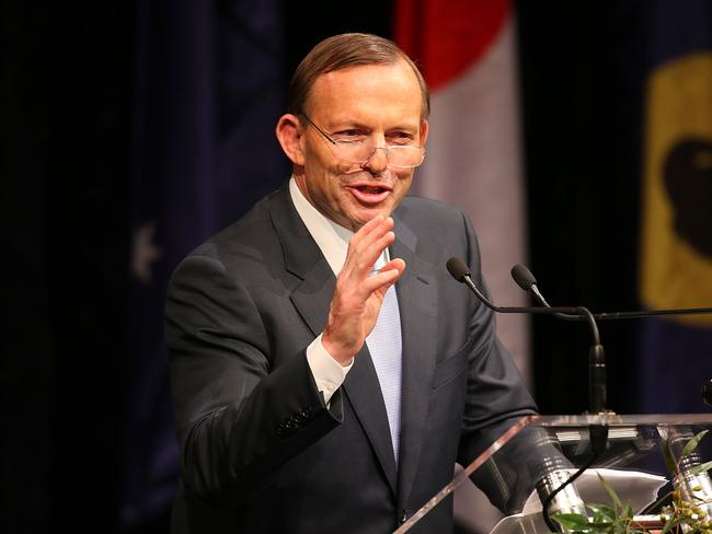 "Situation normal ... Prime Minister Tony Abbott remains confident the carbon tax repeal will go once everyone has ""huffed and puffed"". Pic: Paul Kane/Getty Images"