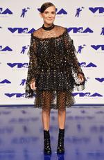 Millie Bobby Brown attends the 2017 MTV Video Music Awards at The Forum on August 27, 2017 in Inglewood, California. Picture: Getty