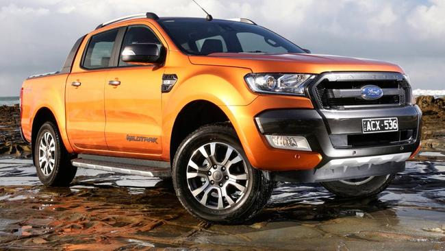 In demand ... the flagship Ford Ranger Wildtrak. Picture: Supplied.