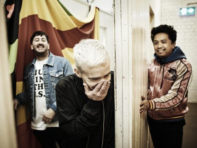 The Avalanches are on high rotation on Kinderling Radio. Picture: Supplied.