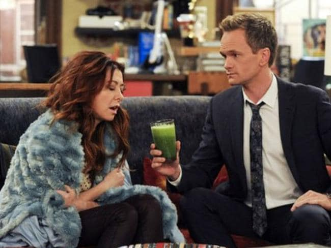 Lily and Barney were good friends on the show.