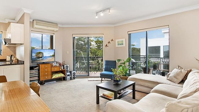 A two-bedroom unit at 34/187 Cleveland St, Redfern overlooking Prince Alfred Park, sold for $690,000. NSW real estate.