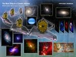 James Webb Space Telescope World Science Festival display. Picture: Northrop Grumman