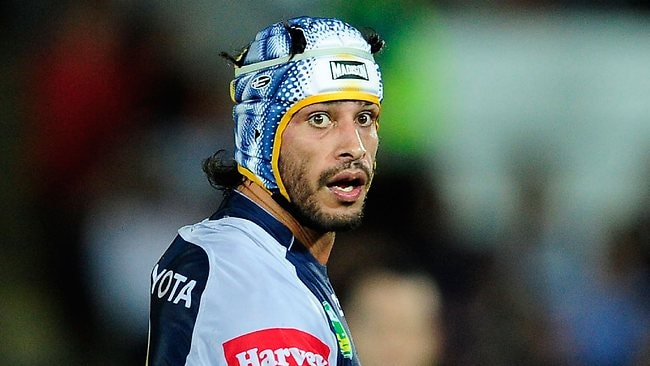 Johnathan Thurston played a starring role once again for the Cowboys.