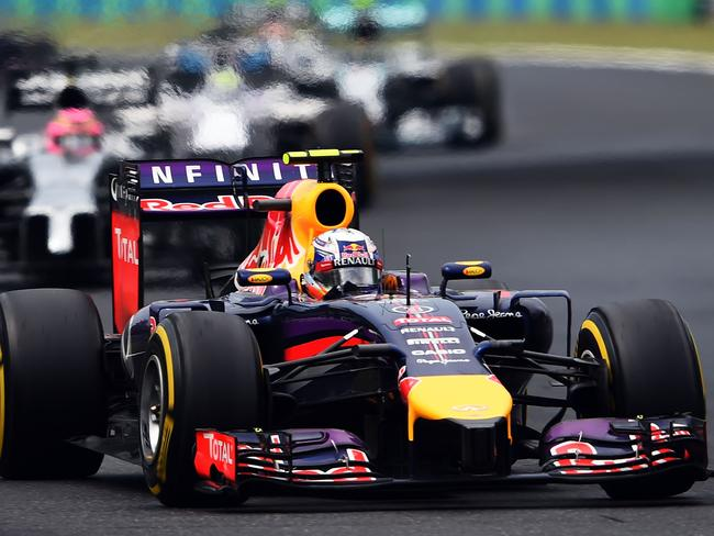 Daniel Ricciardo weaves his way around the tight circuit. Picture: Getty Images