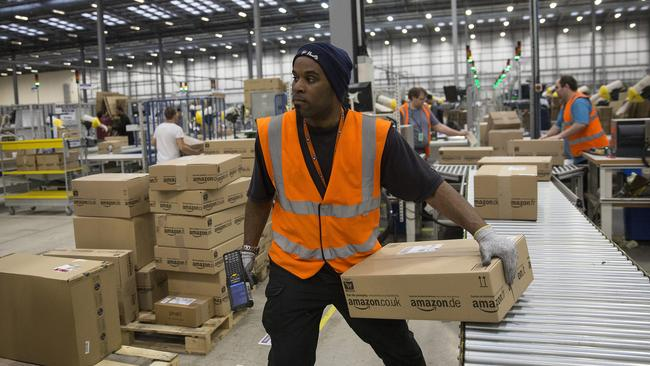 Amazon eked out a profit margin of 0.36 per cent in 2013.