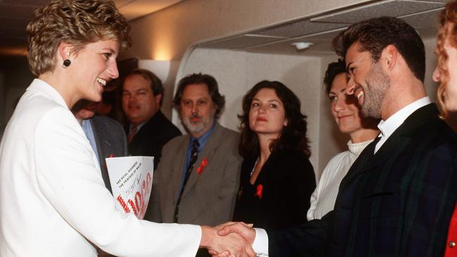 Princess Diana and George Michael were close friends. Picture: Tim Graham/Getty Images