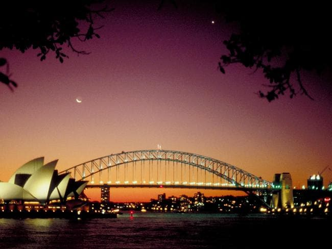 Sydney's Harbour Bridge and Opera House see the city ranked No. 1 on the must-see list.