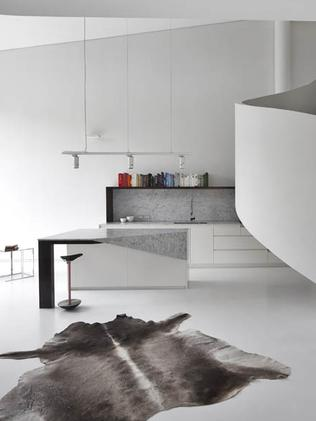 Loft Apartment in West Melbourne by Adrian Amore Architects. Picture Fraser Marsden