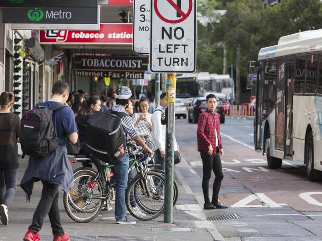 In the year to June, the City received 10 official complaints about rider behaviour. Picture: Matthew Vasilescu