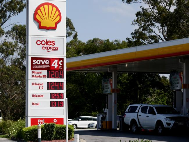 Brisbane Fuel Prices. BP, Milton Rd, Milton. Shell/Coles Express, Gympie Rd Aspley. (AAP Image/Mark Calleja)