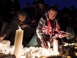 Candlelit Vigil Is Held For The Victims Of The Westminster Terror Attack
