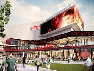 New entertainment precinct at Harbour Town, Docklands, Melbourne. Pic Supplied