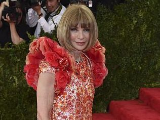Anna Wintour arrives at the Costume Institute Gala Benefit at The Metropolitan Museum of Art May 5, 2015 in New York. AFP PHOTO / TIMOTHY A. CLARY (Photo credit should read TIMOTHY A. CLARY/AFP/Getty Images)