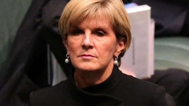 Foreign Minister Julie Bishop warns that the Islamic State group is recruiting chemicals experts.