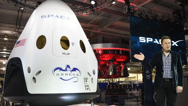 Anyone need a lift to space? The SpaceX shuttle will provide transportation to the International Space Station