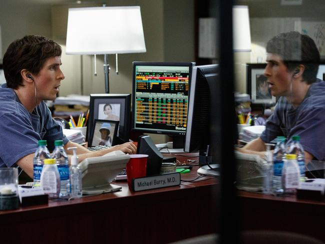 Christian Bale plays Michael Burry in  <i>The Big Short. </i>The book and subsequent film made Michael Burry famous for his market acumen.