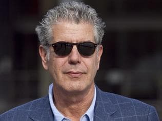 Author and Chef Anthony Bourdain is photographed at the Sebel Pier One Hotel in Walsh Bay during the 2011 Sydney Writers Festival.