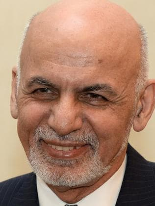 Afghanistan's President Ashraf Ghani has supported the bombing. Picture: AFP