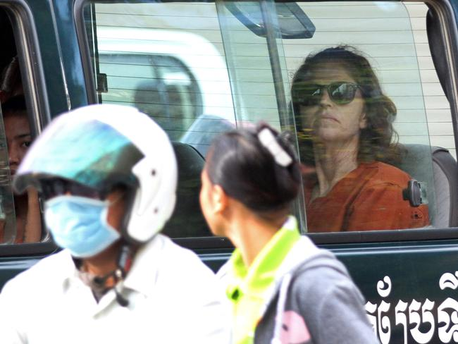 "Tammy Davis-Charles told a court she has ""lost everything"" since her arrest. Picture: AFP"