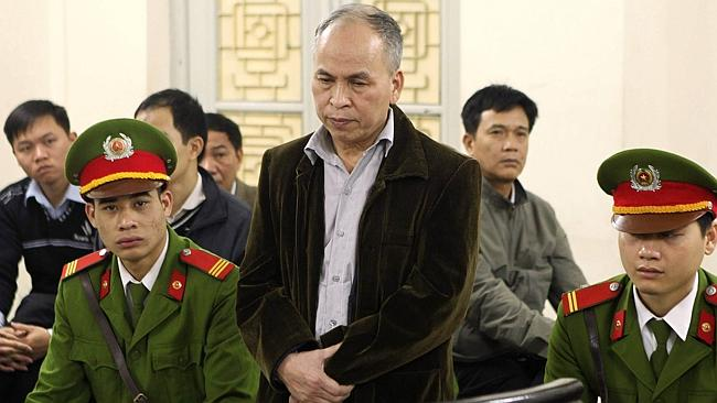 Vietnam jailed blogger Pham Viet Dao 15 months on a charge of anti-state activity, the se