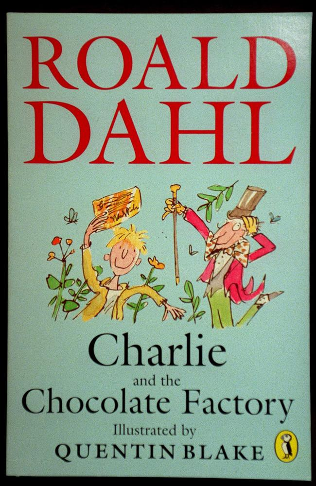 Popular children's book 'Charlie and the Chocolate Factory' by Roald Dahl.