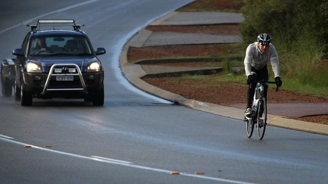 More bicycle paths will remove cyclists from the road.