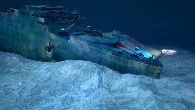The Titanic was discovered until 1985 by using sophisticated sonar technology.