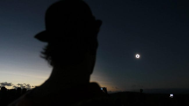 Eclipse 2012 Festival at Palmer River Far North Queensland. Picture: Tom Lee
