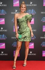 Carissa Walford arrives on the red carpet for the 31st Annual ARIA Awards 2017 at The Star on November 28, 2017 in Sydney, Australia. Picture: Richard Dobson