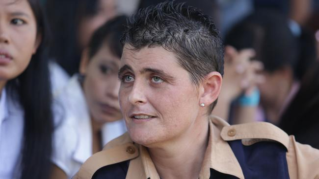 Moved ... Bali Nine member Renae Lawrence has been transferred to another prison after a plot to kill prison guards was uncovered.