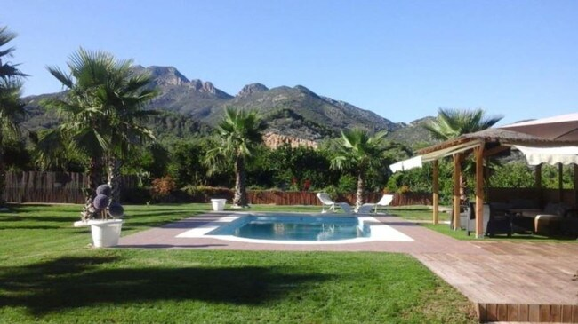 A room in this villa in Valencia costs $238 per night to rent. Picture: NaturistBnB