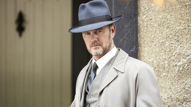 Hit show ... Craig McLachlan in TV show The Doctor Blake Mysteries. Picture: Supplied.