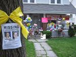 Cleveland's House of Horrors: a collection of celebratory balloons and stuffed animals crowds the entrance to the home of the sister of Amanda Berry, one of three women found alive in a house a few kilometres away. Photo: AP/Andrew Welsh-Huggins