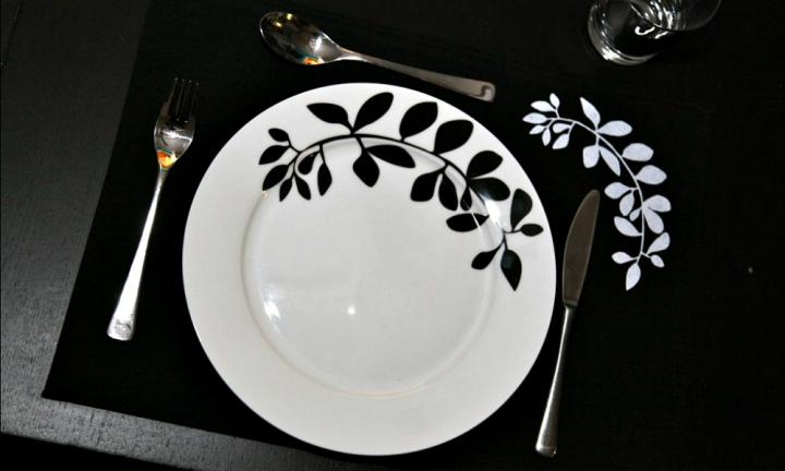 How to make screen-printed placemats