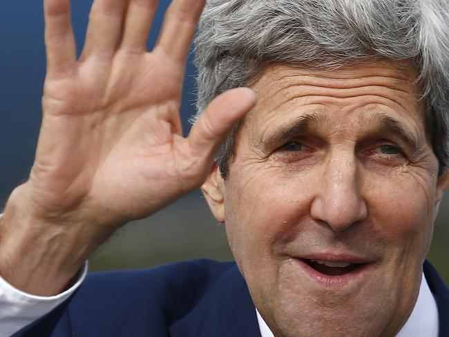 Kerry will discuss strategic military cooperation with Australia. Pic: Bradley Hunter